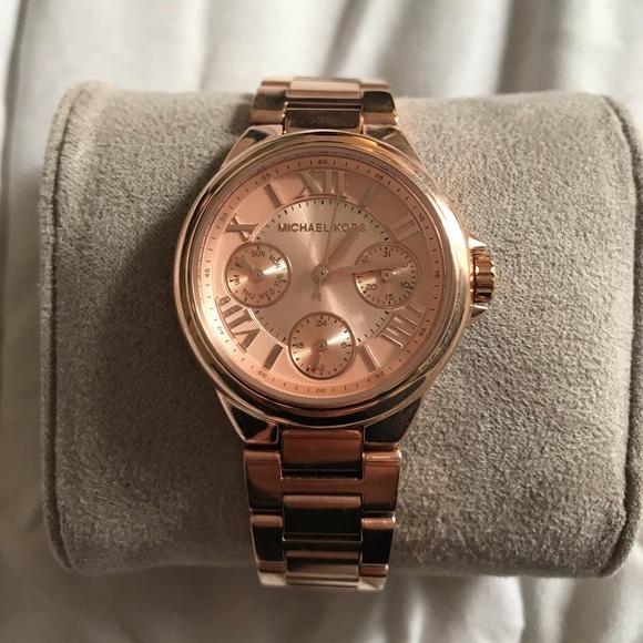 1d6458b5c55d Women s mini Camille rose-gold watch MK 6647. NWT. Michael Kors